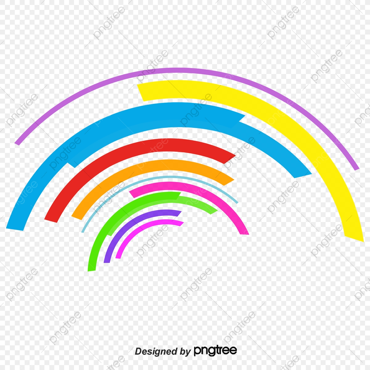 Colorful Abstract Background Beautiful Abstract Curve Png