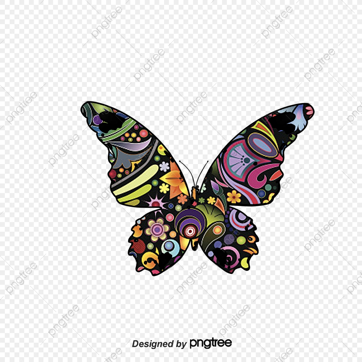 Butterfly Vector 3300 Butterfly Graphic Resources For Free Download