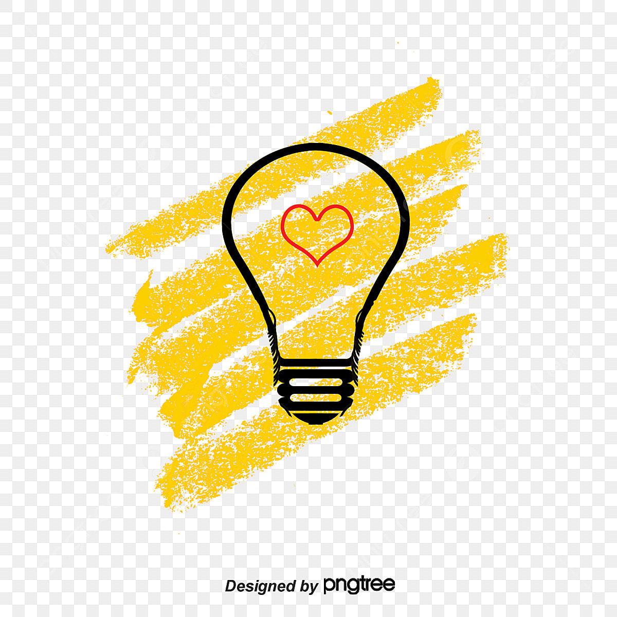 Creative Cartoon Light Bulb Light Bulb Light Vector Bulb Vector