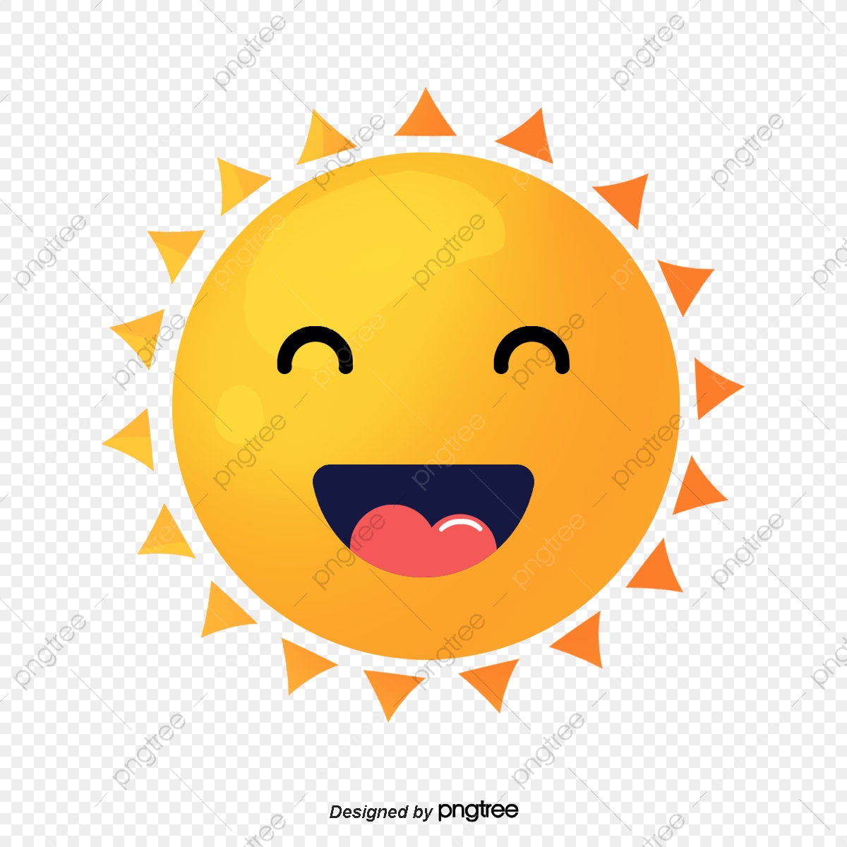 Sun rays fancy. Cute cartoon clipart png
