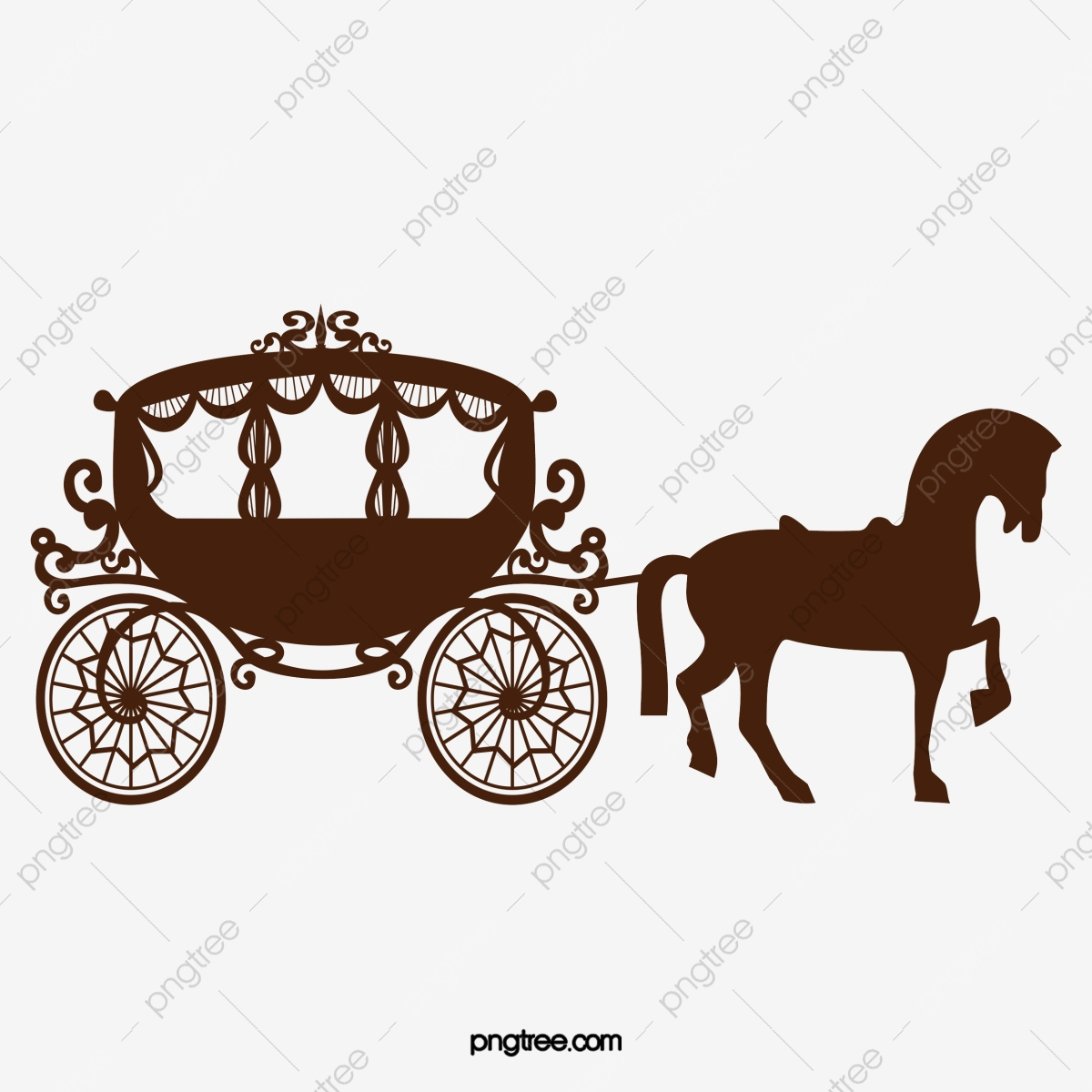 Dark Horse Horse Vector Horse Clipart Carriage Png And Vector With Transparent Background For Free Download