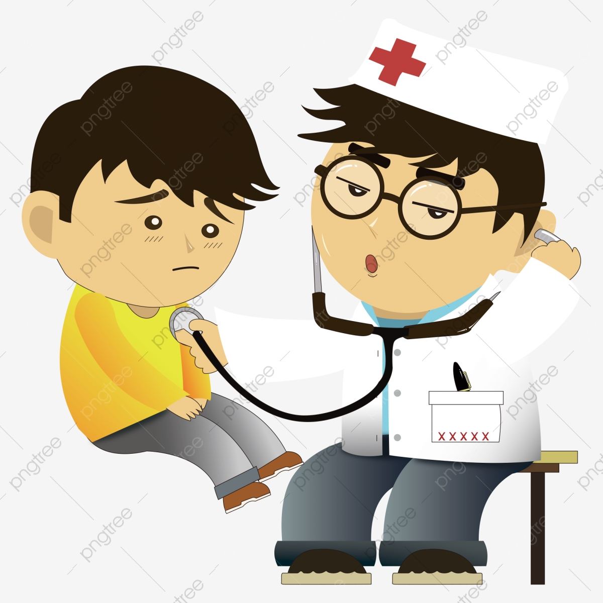 Doctor Kids, Doctor Clipart, Kids Clipart, See A Doctor PNG
