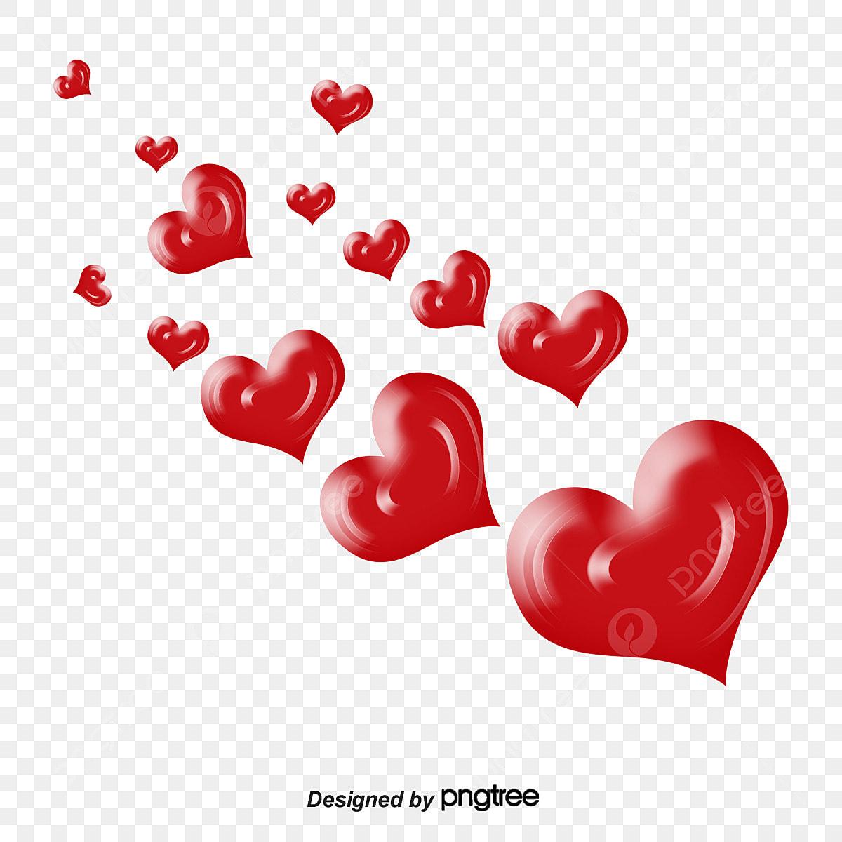 Fantasy Hearts, Hearts, Heart Crown, Cartoon Heart PNG Transparent