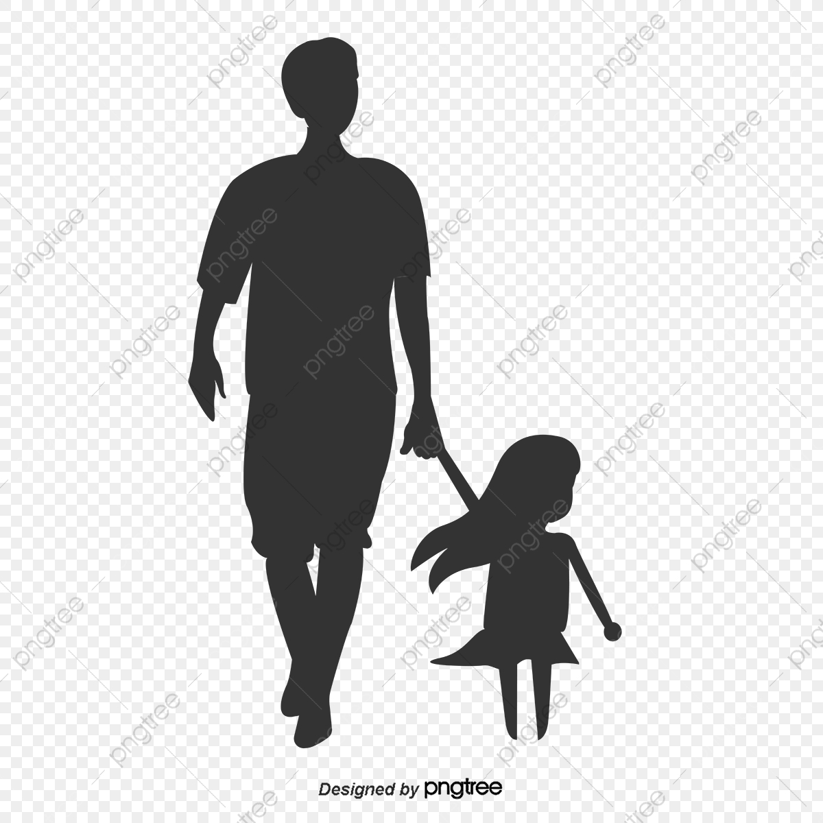 Father And Child Silhouette Man 039 S Day