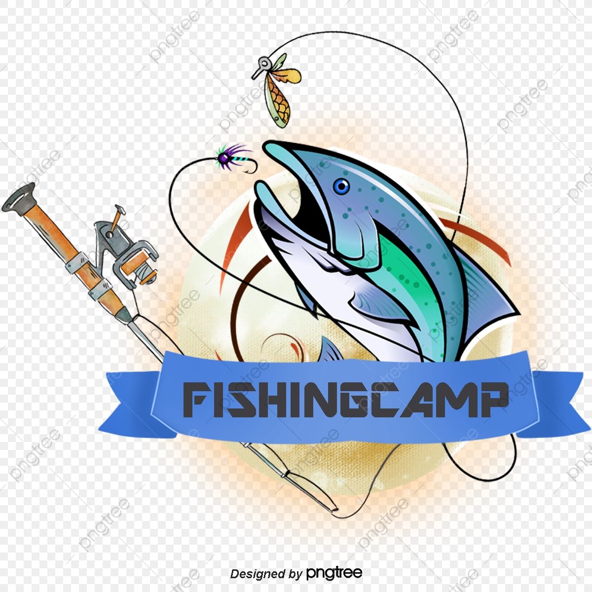 Fishing Club Png Images Vector And Psd Files Free Download On Pngtree