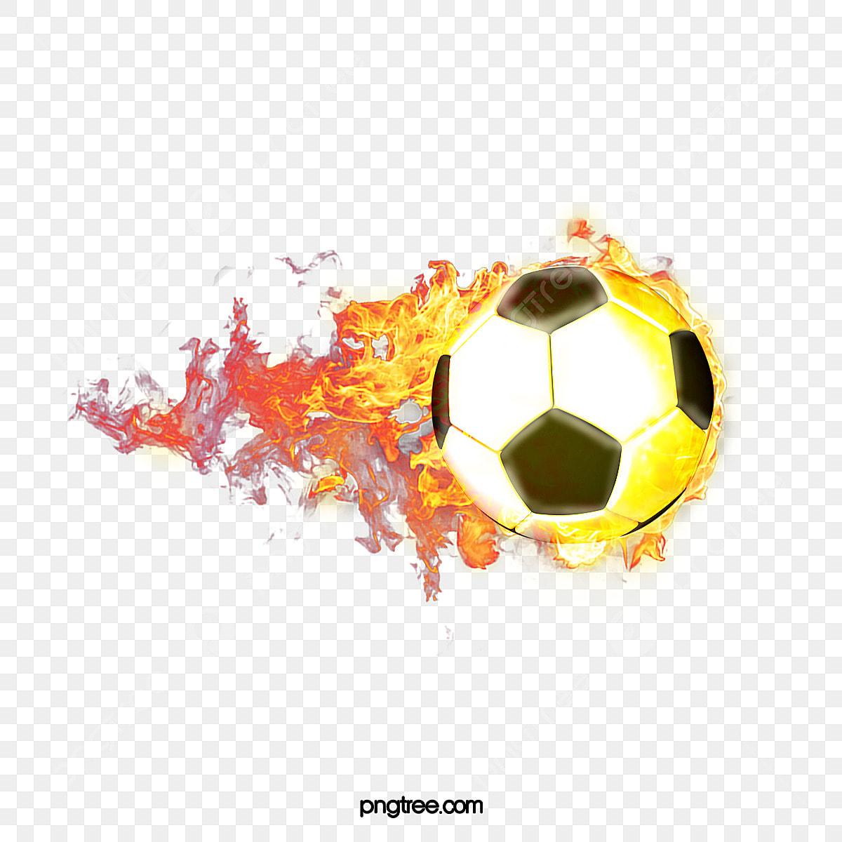 le feu de la coupe du monde de football le football feu
