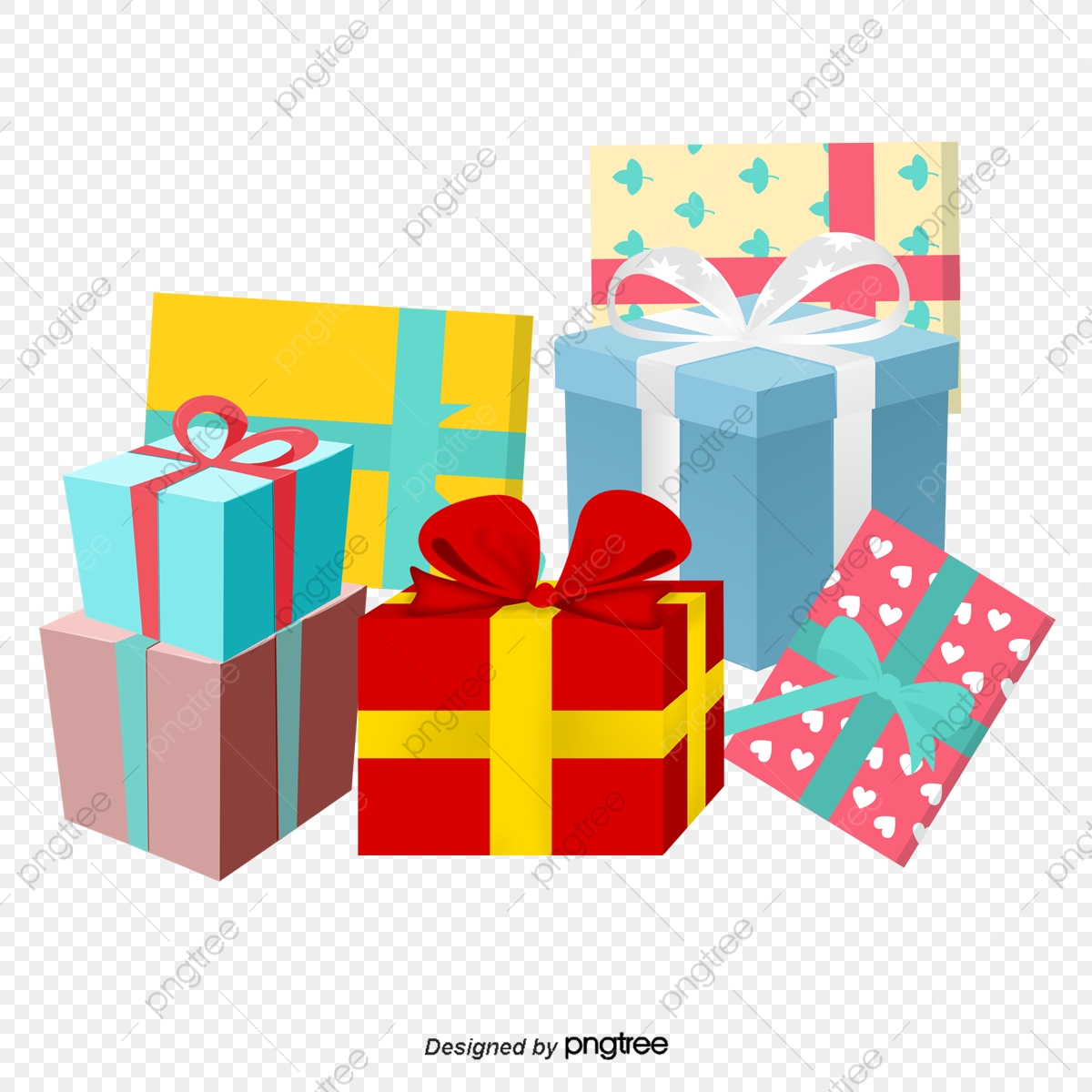 Christmas Gift Clipart.Gift Heap Gift Clipart Christmas Gifts Gift Boxes Png