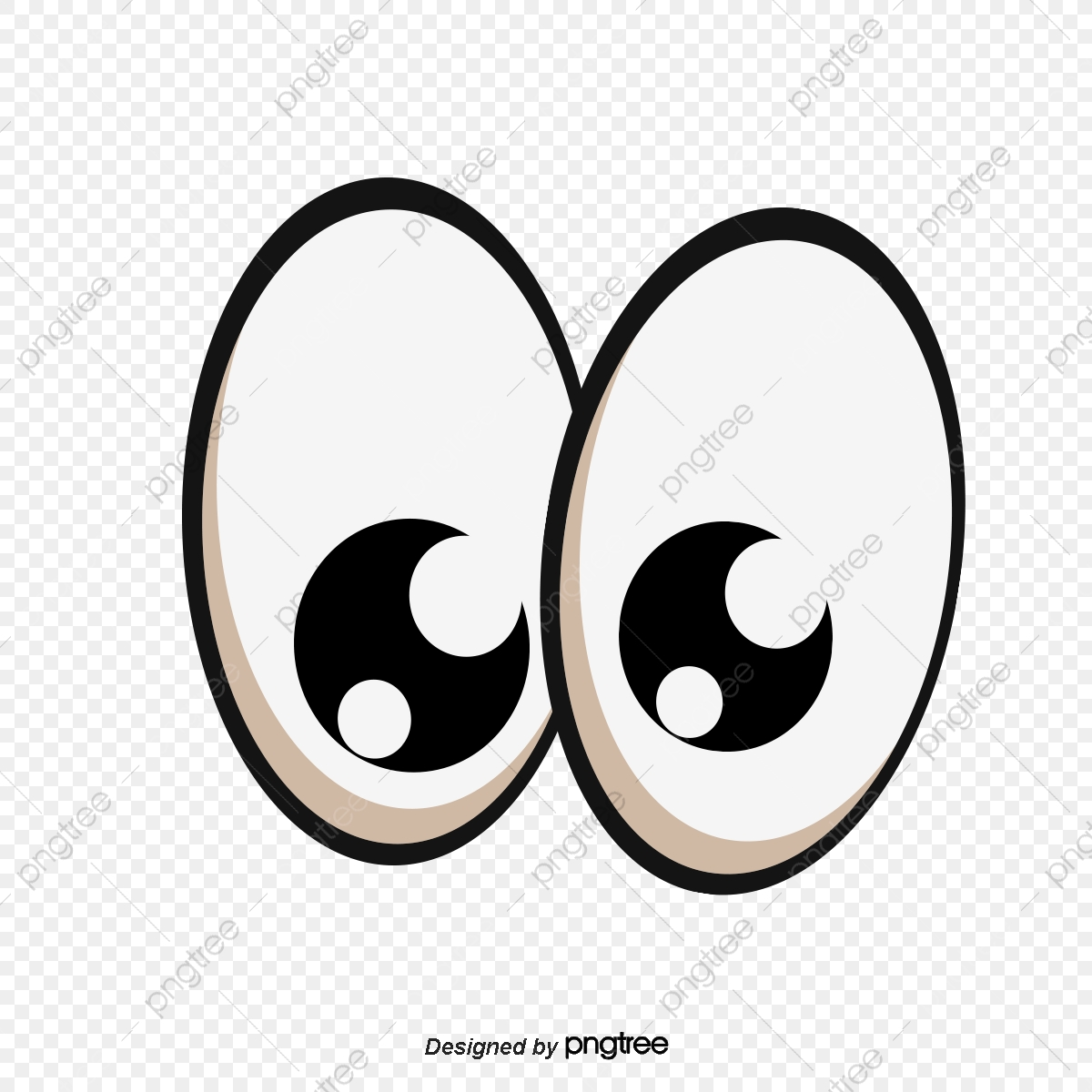 Hand Painted Cartoon Eyes Cartoon Eye Cartoon Eyes Png