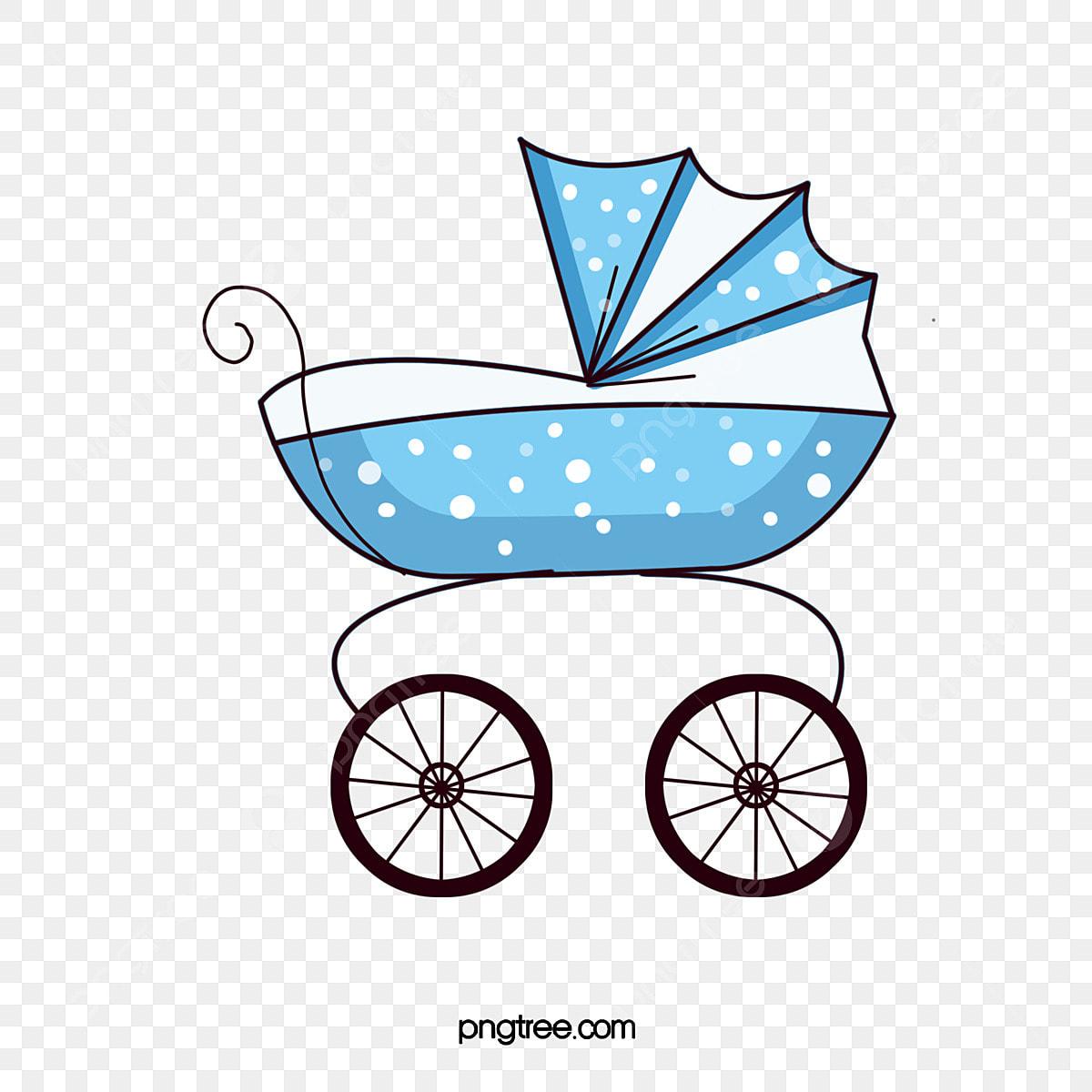 Desenho De Carrinho De Bebe Dos Desenhos Animados Cartoon