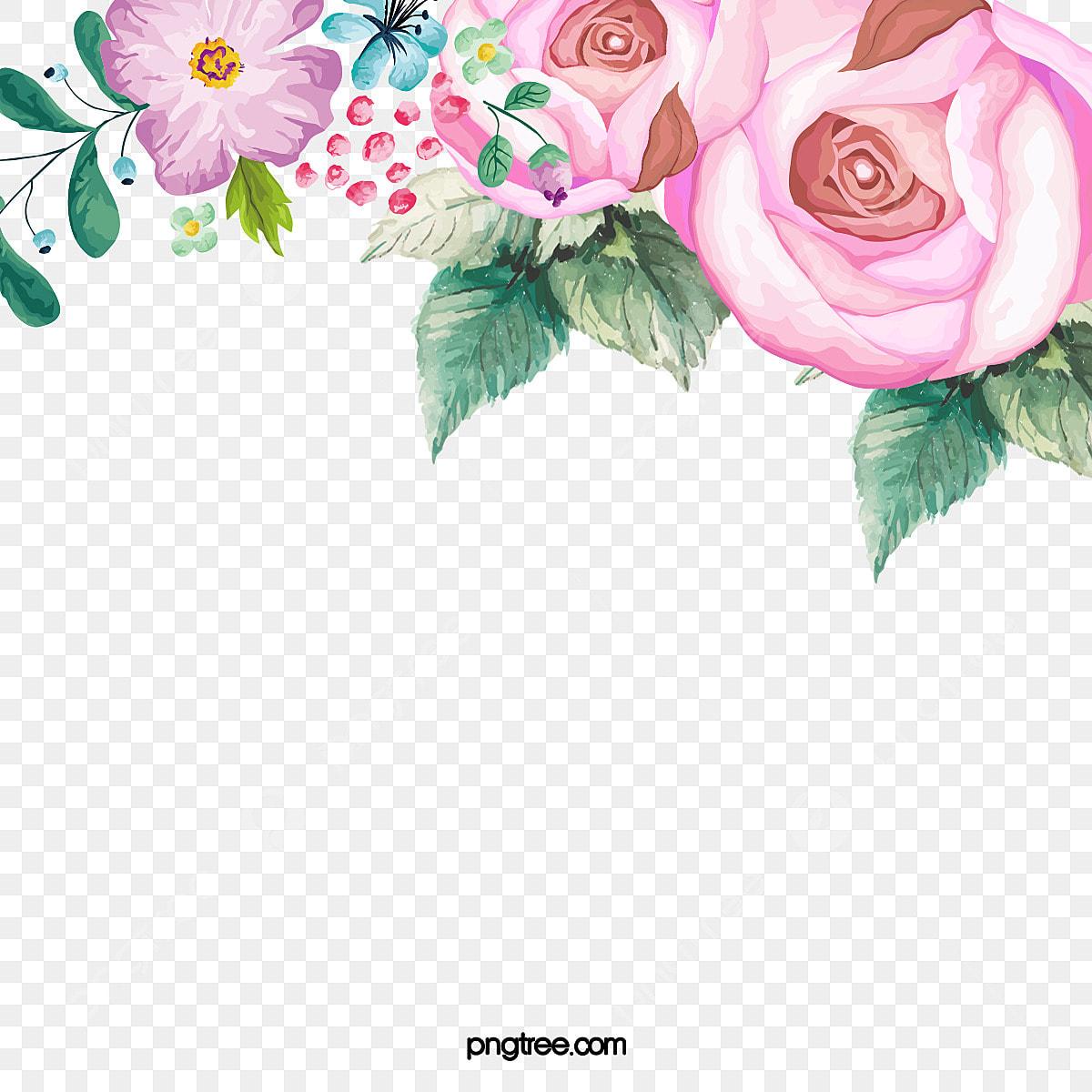 手描き花 手描き 花 イラスト画像とpsd素材ファイルの無料ダウンロード