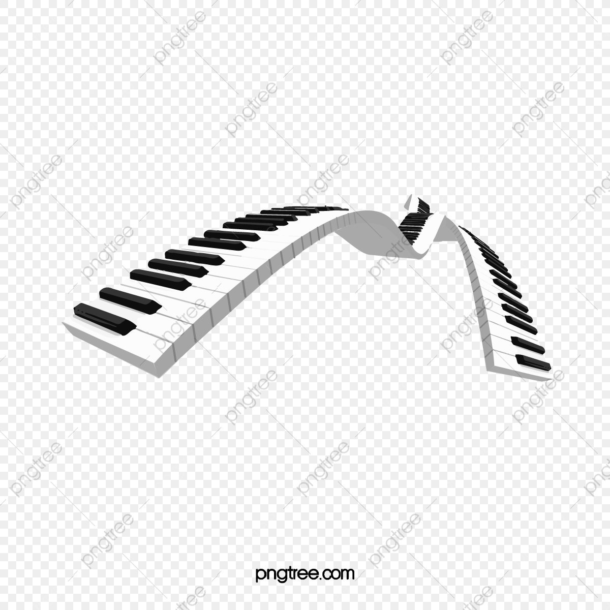 Pintado A Mano De Teclas De Piano Botón Teclado Teclado