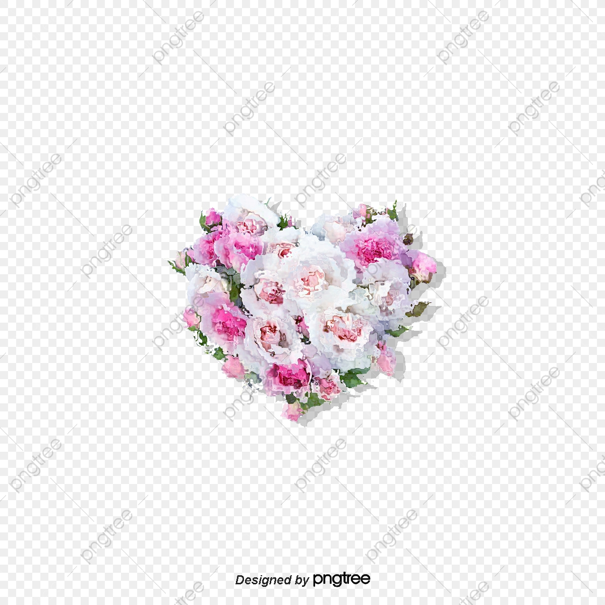 en forme de coeur rose en forme de coeur rose couronnes