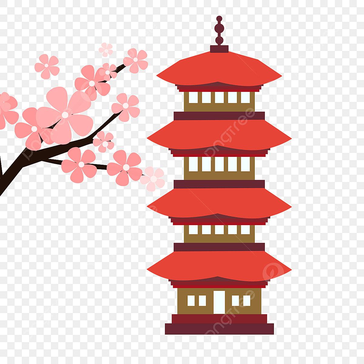 Japon Japon Elemento Japones Japon Paisaje Png Y Psd Para