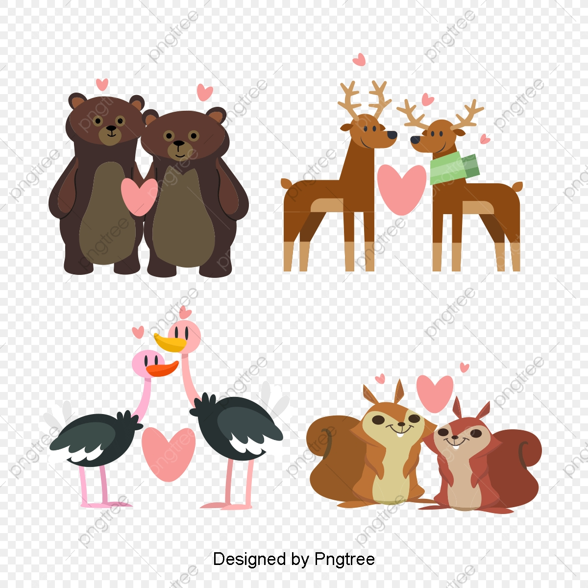 la main de la faune sauvage animal sauvage croquis de l animal peint  u00e0 la main des animaux png