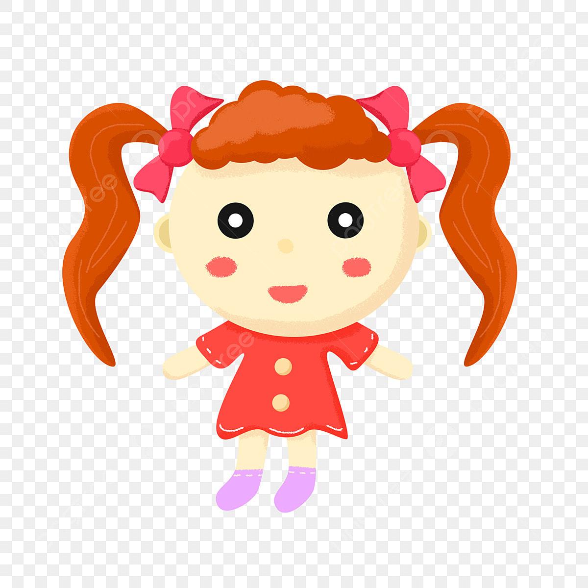 Boneca Menina Png Images Vetores E Arquivos Psd Download