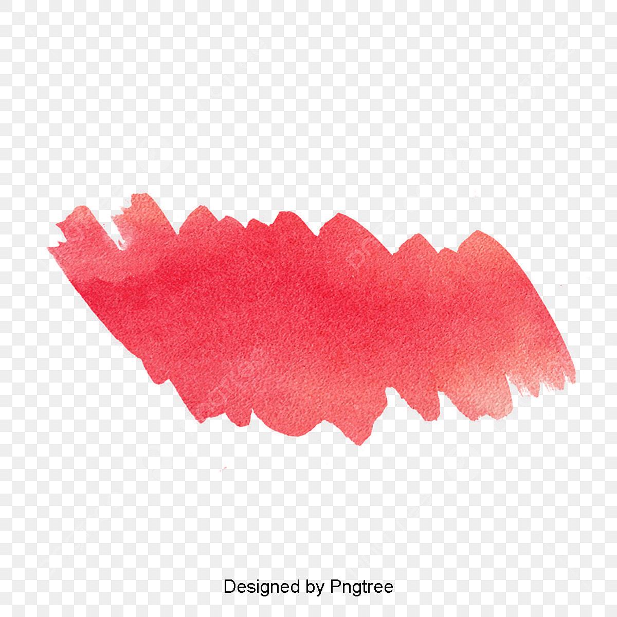 Hiệu ứng Màu Nước đỏ Màu Màu Nước Dấu Vết Màu Nước