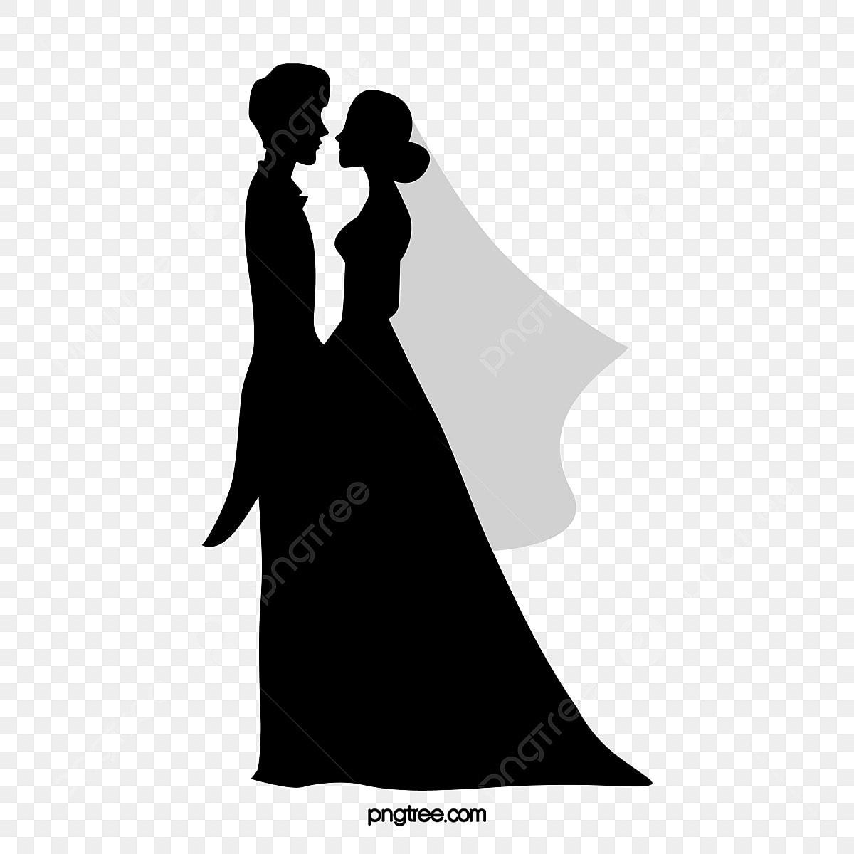 Romantis Beberapa Watak Watak Hitam Dan Putih Hitam Gaun