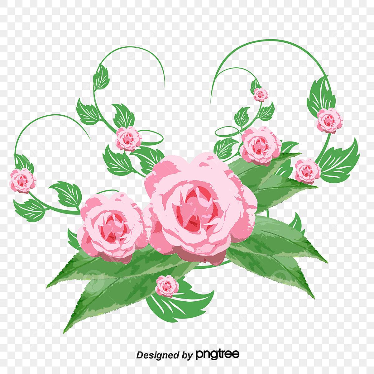 花のイラストバラ高清図png素材 バラ イラスト ベクトル図画像とpsd素材