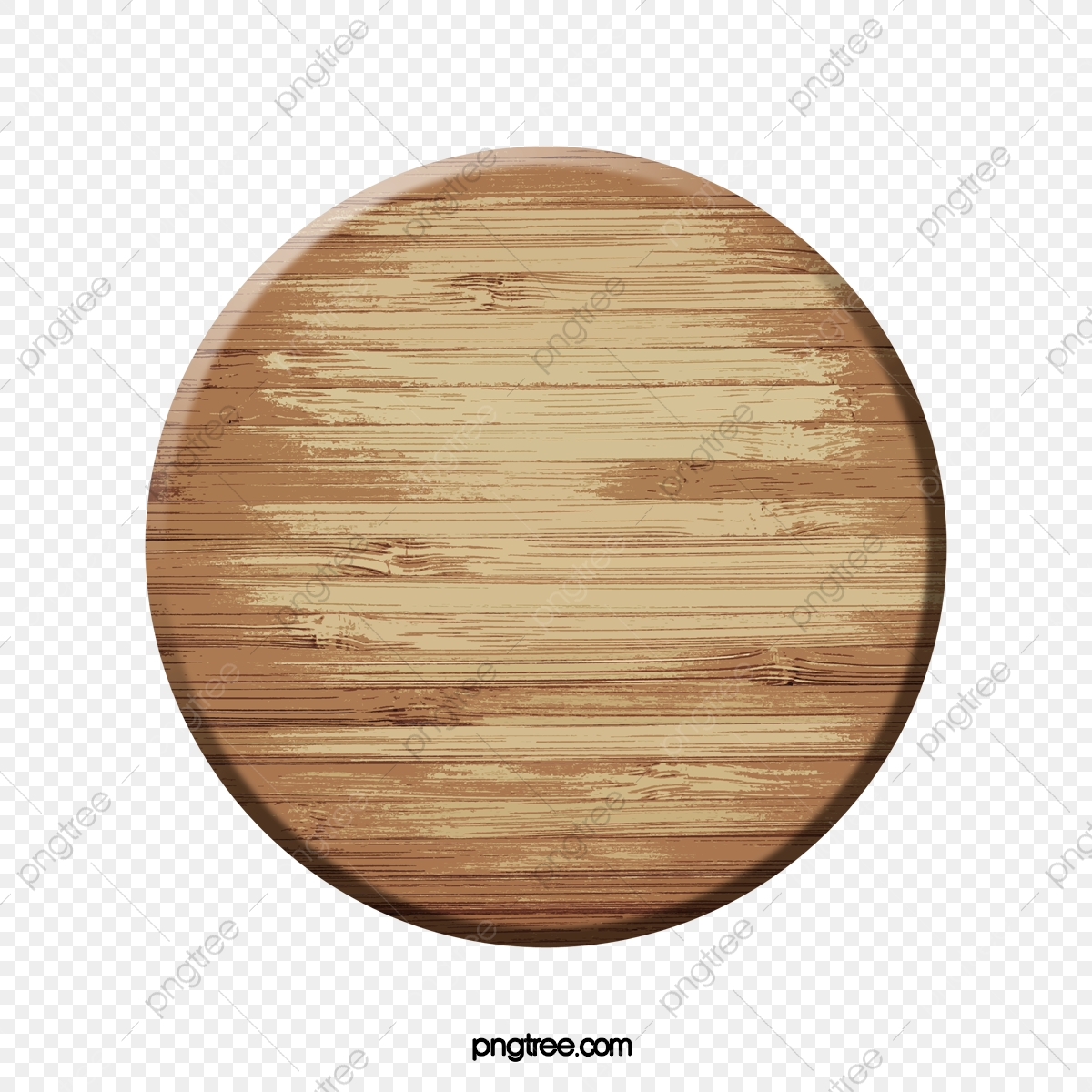 Wood round. Clipart board brown png