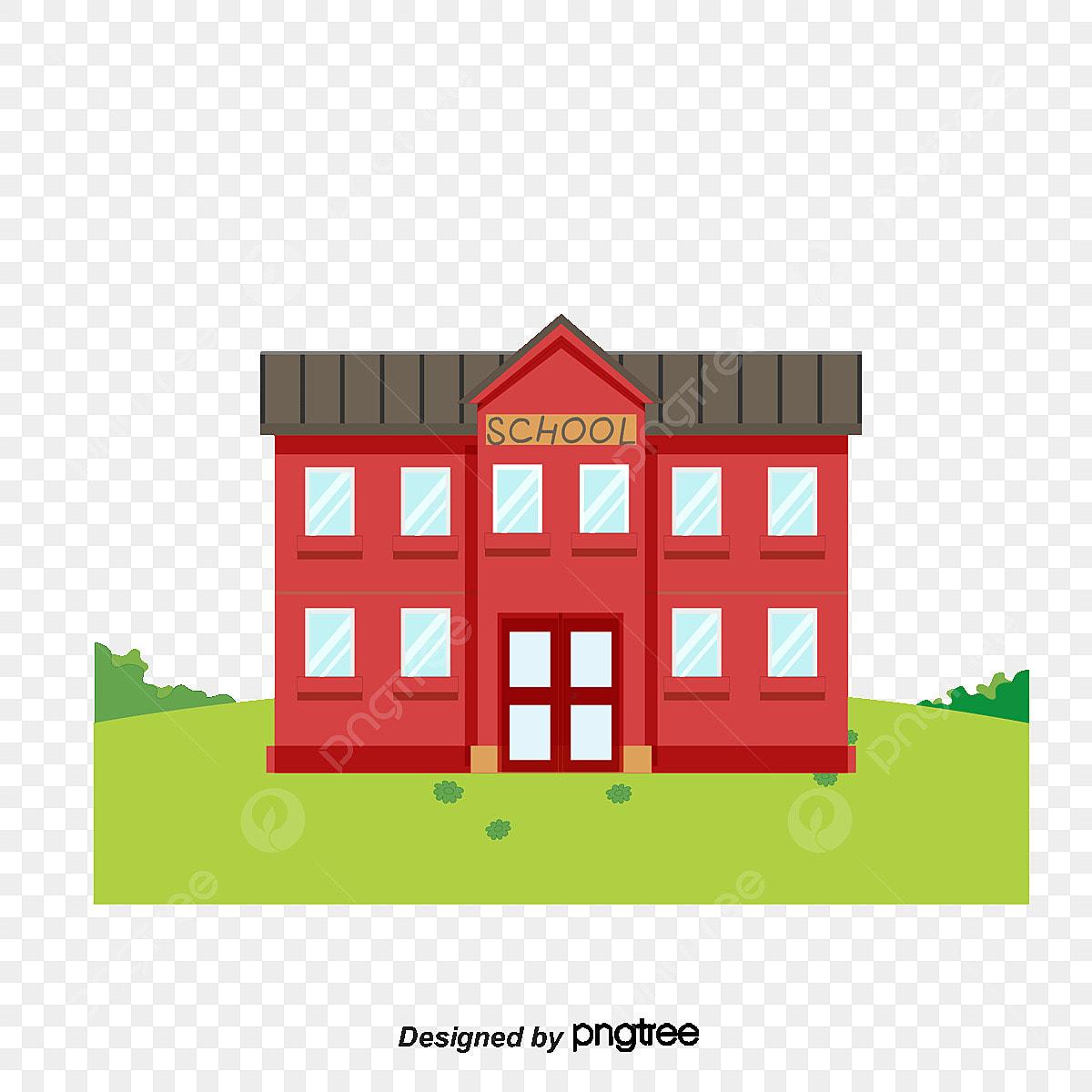 tangan dicat sekolah bangunan rumput corak tangan dicat