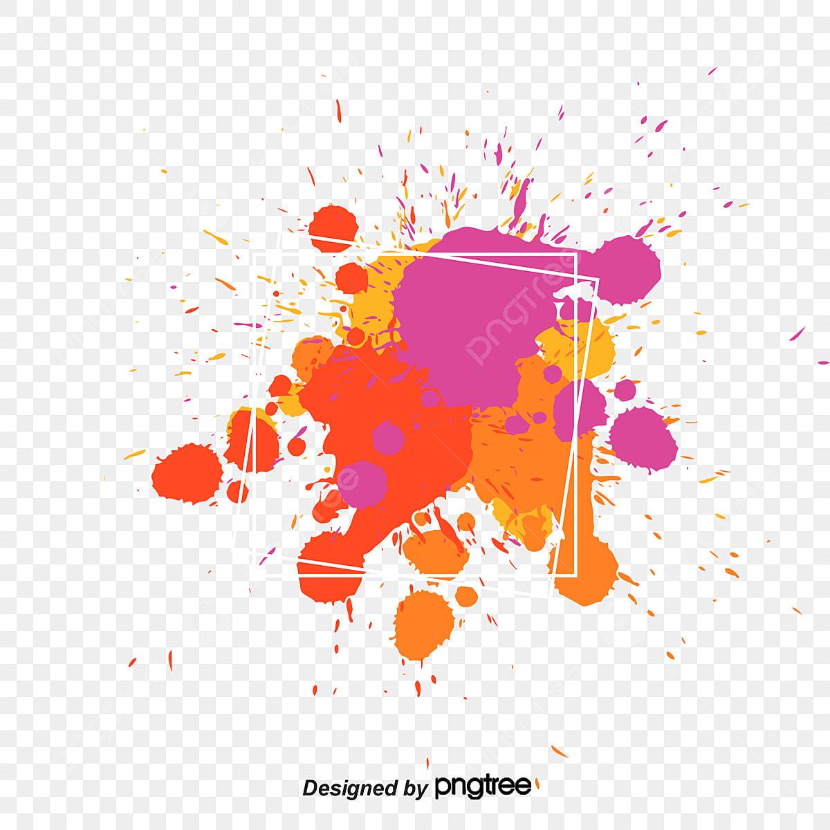 manchas de pintura de sombreado color color sombreado