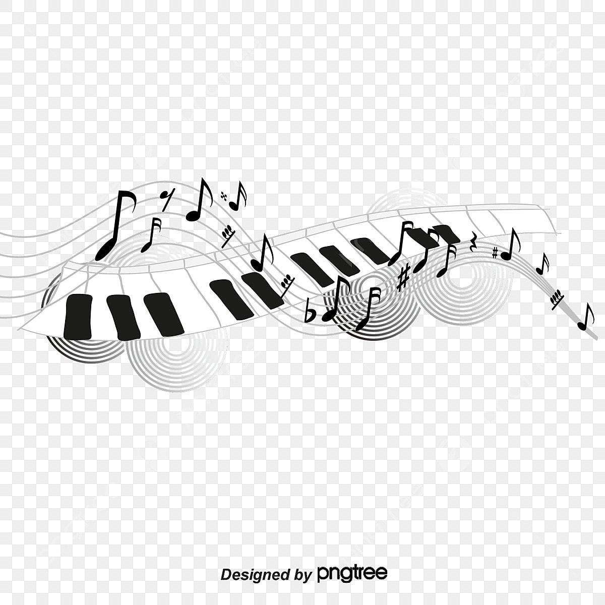 Notes De Musique De Chanson Clipart Musique Notes De Danse Touches De Piano Fichier Png Et Psd Pour Le Telechargement Libre