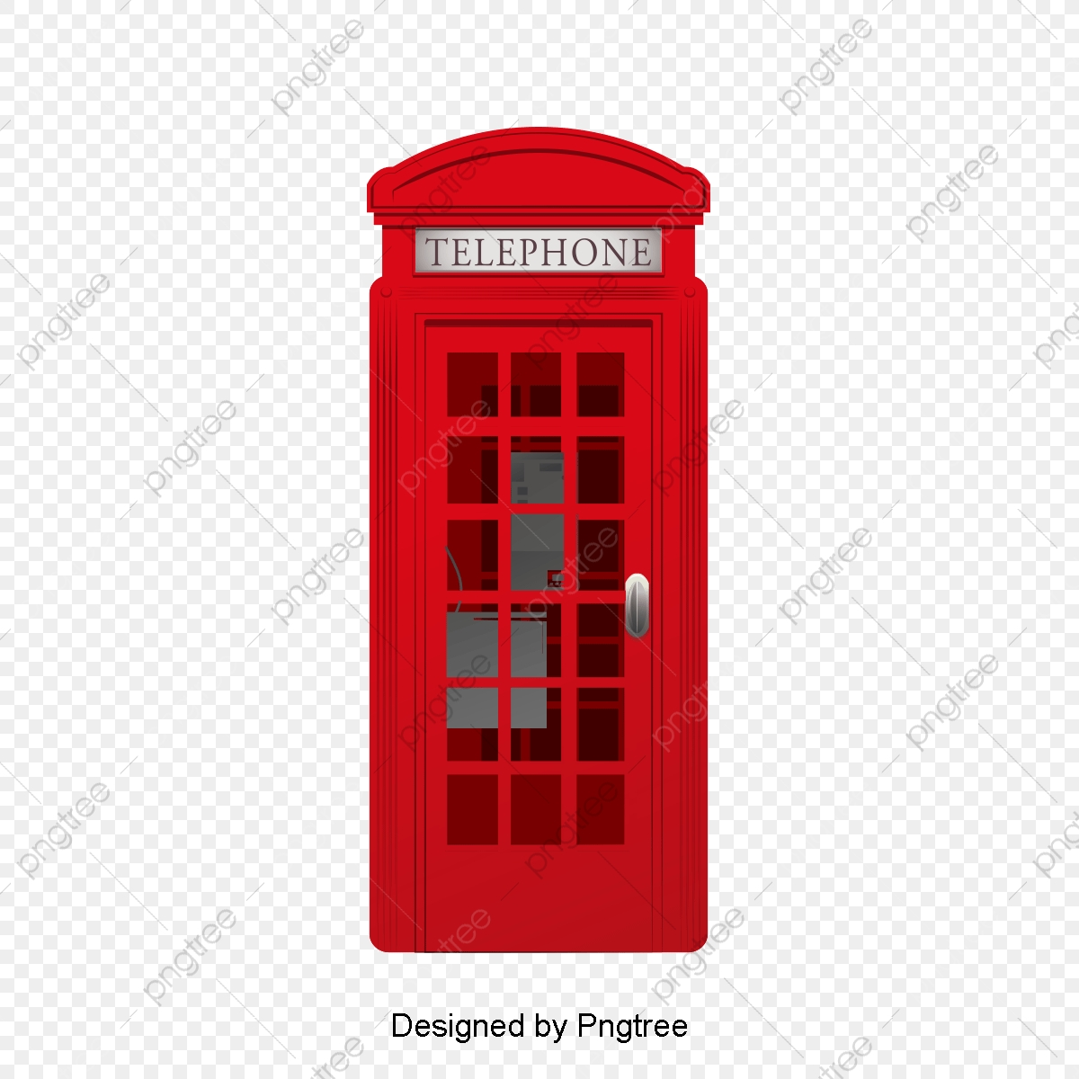 Telephone Booth United Kingdom London Png Transparent Image And