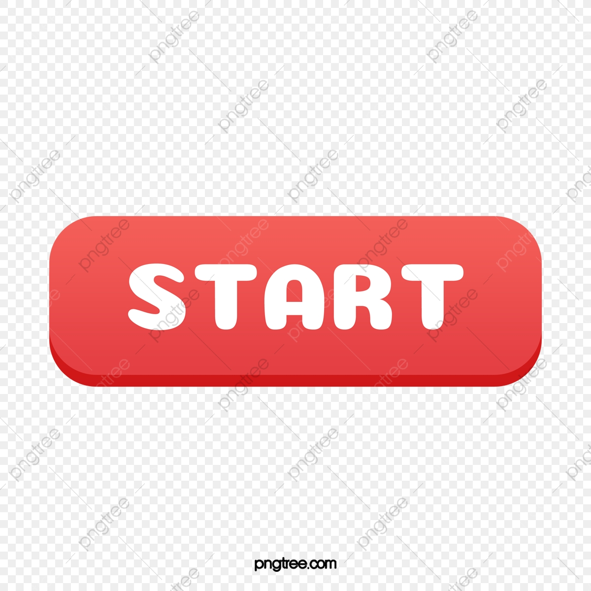 The Start Button, Button Clipart, Red, Start PNG Transparent Clipart Image  and PSD File for Free Download