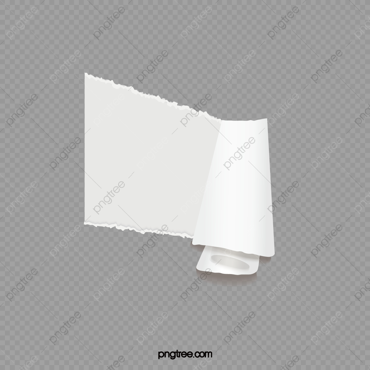 Torn White Paper Effect Paper Vector Paper Tear Effect Png And