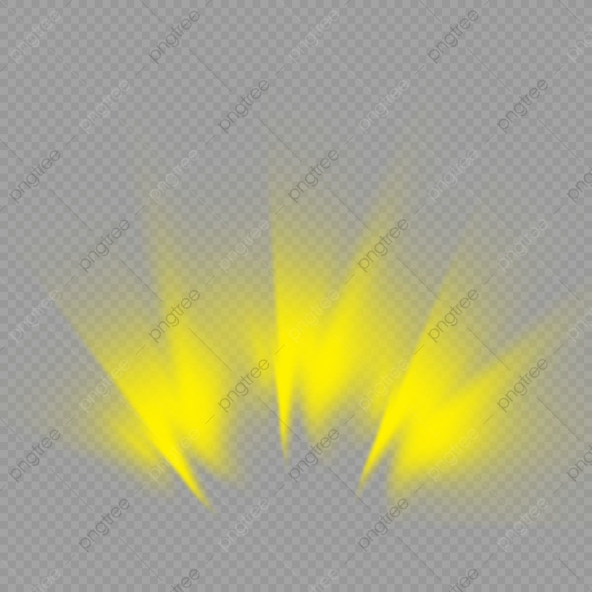 Clipart Copyright Compla Yellow Light Effect - Gonzagasports