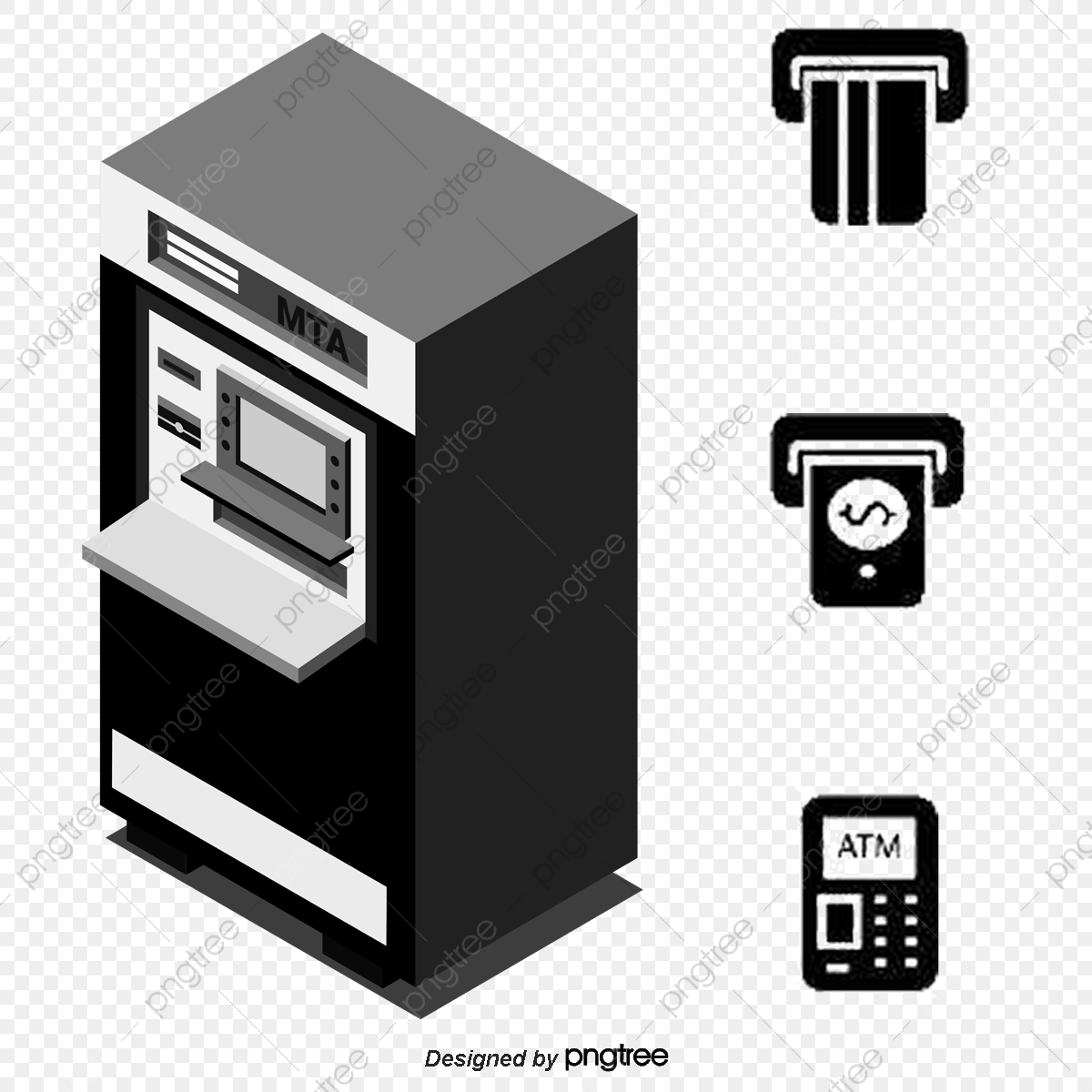 Vector Atm Withdrawals Schematic, Enter Password, Place A Card, Remove  Money PNG Transparent Clipart Image and PSD File for Free Download