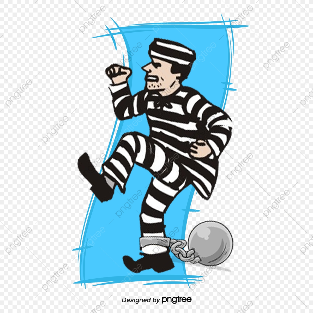 Vector Characters Prison, People Prison, Prisoner, Criminal PNG and