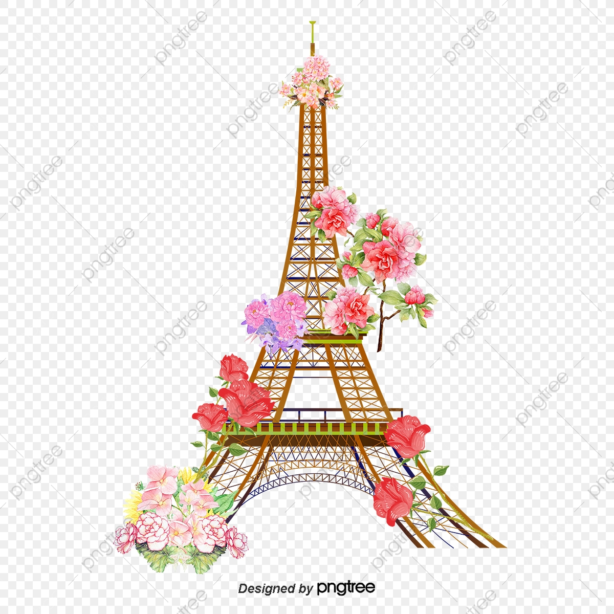 vector eiffel tower eiffel tower paris pattern beautiful png transparent clipart image and psd file for free download https pngtree com freepng vector eiffel tower 330388 html