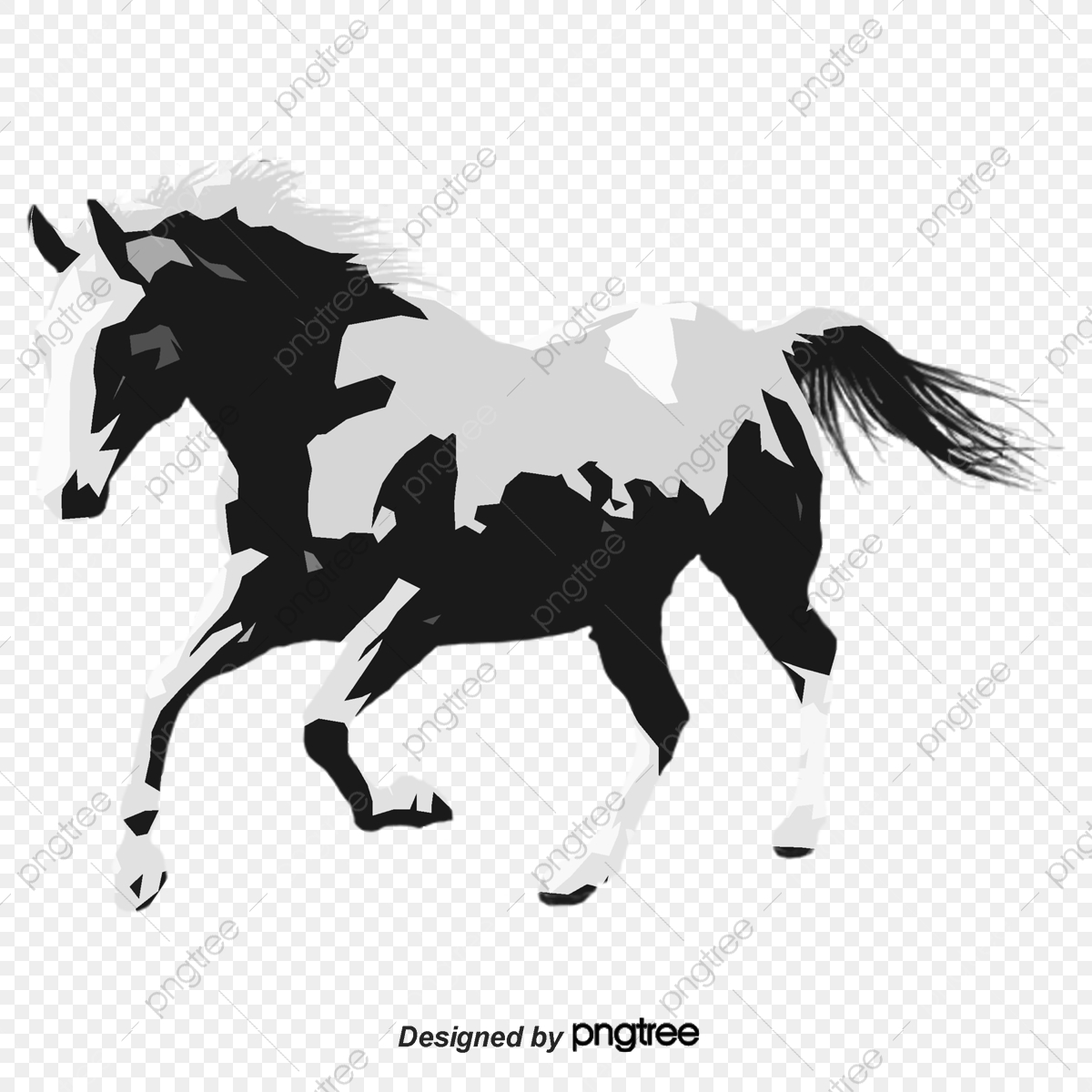 Vector Running Horses Horse Vector Dart Png Transparent Clipart Image And Psd File For Free Download