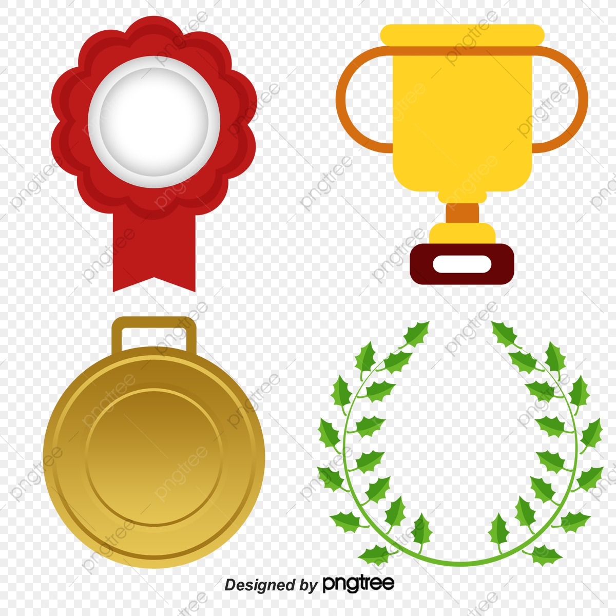 Vector Trophies Medals, Decoration, Vector, Trophies Medals