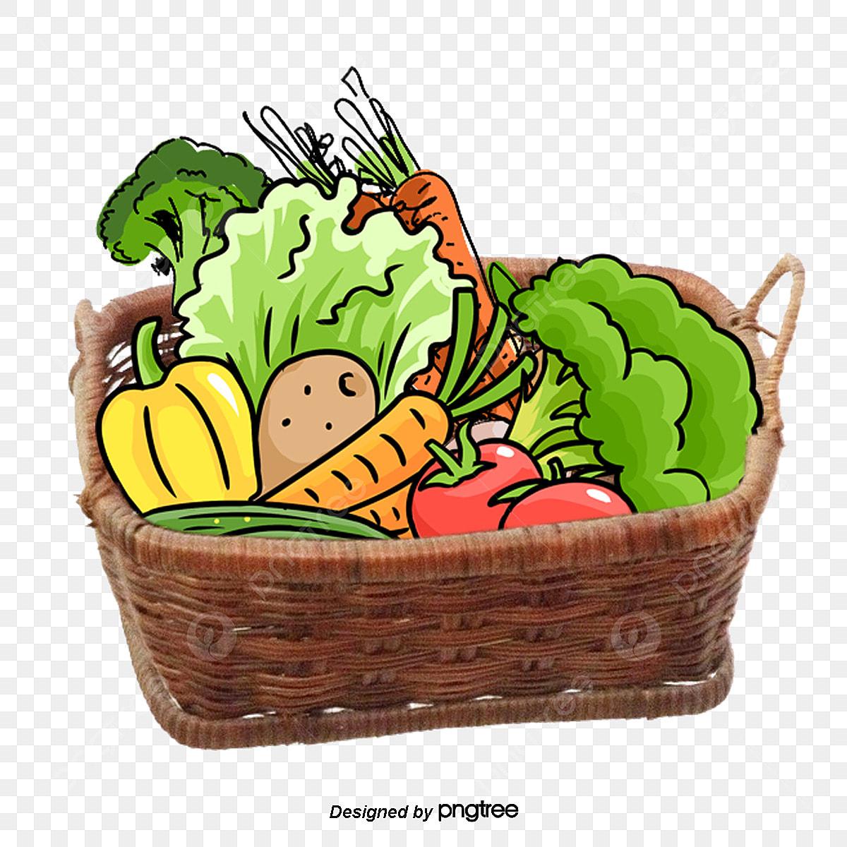 ناقلات الخضار خضروات سلة الخضار الطازجة Png وملف Psd للتحميل مجانا