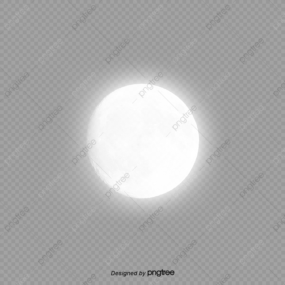White Transparent Moon Moon White Moon Month Png