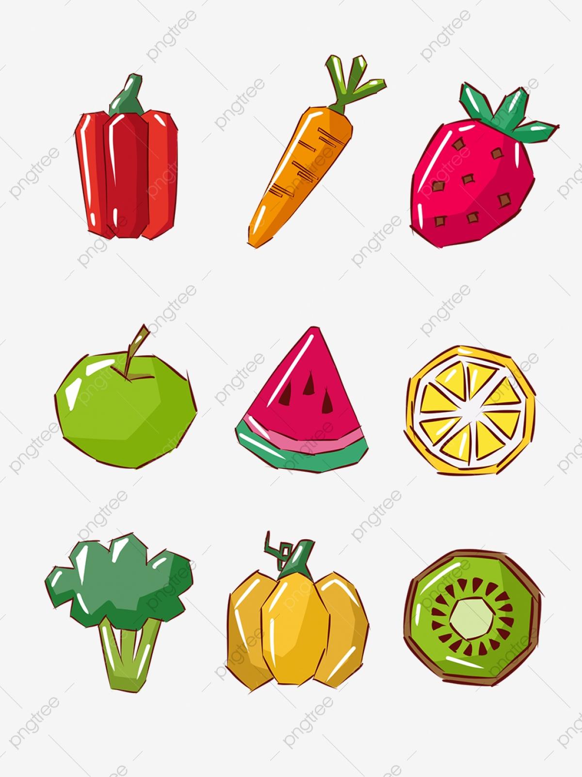 اسماء الخضروات والفواكه
