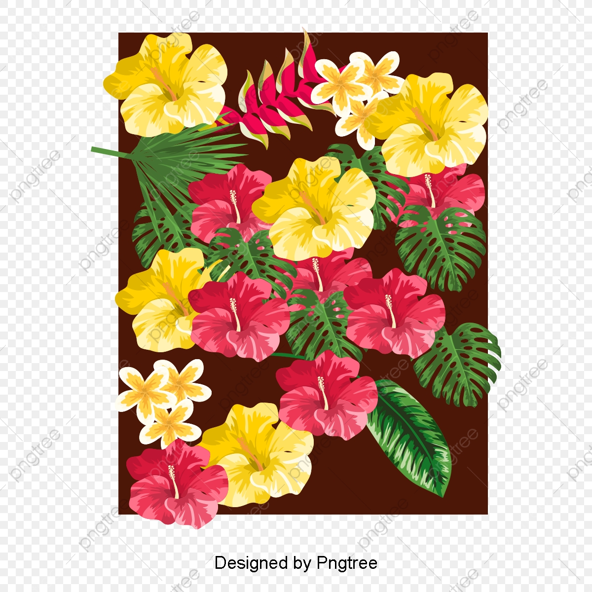 Beautiful Floral Background Vector Vector Beautiful Flowers