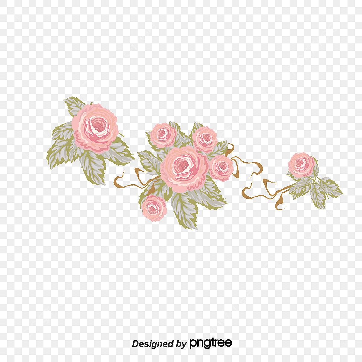 خلفيات ورود جميلة وردة البحر جميل ناقلات روز سه ناقلات المواد الورود البحر Png وملف Psd للتحميل مجانا
