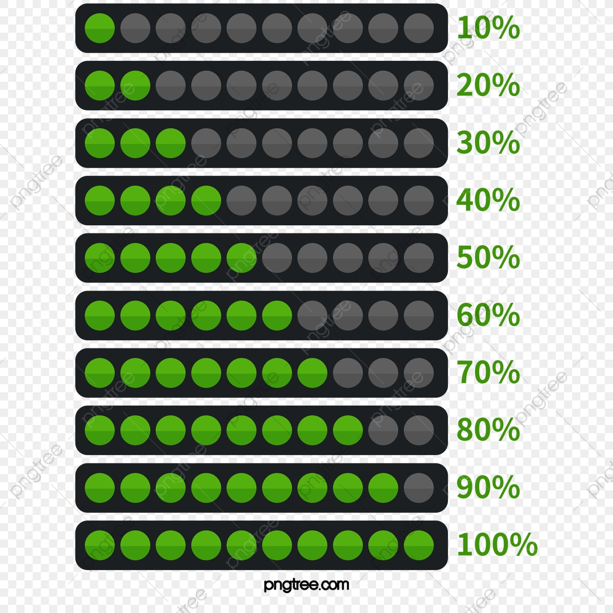 Beautifully Page Vector Progress Bar, Web Page, Fine, Vector PNG and
