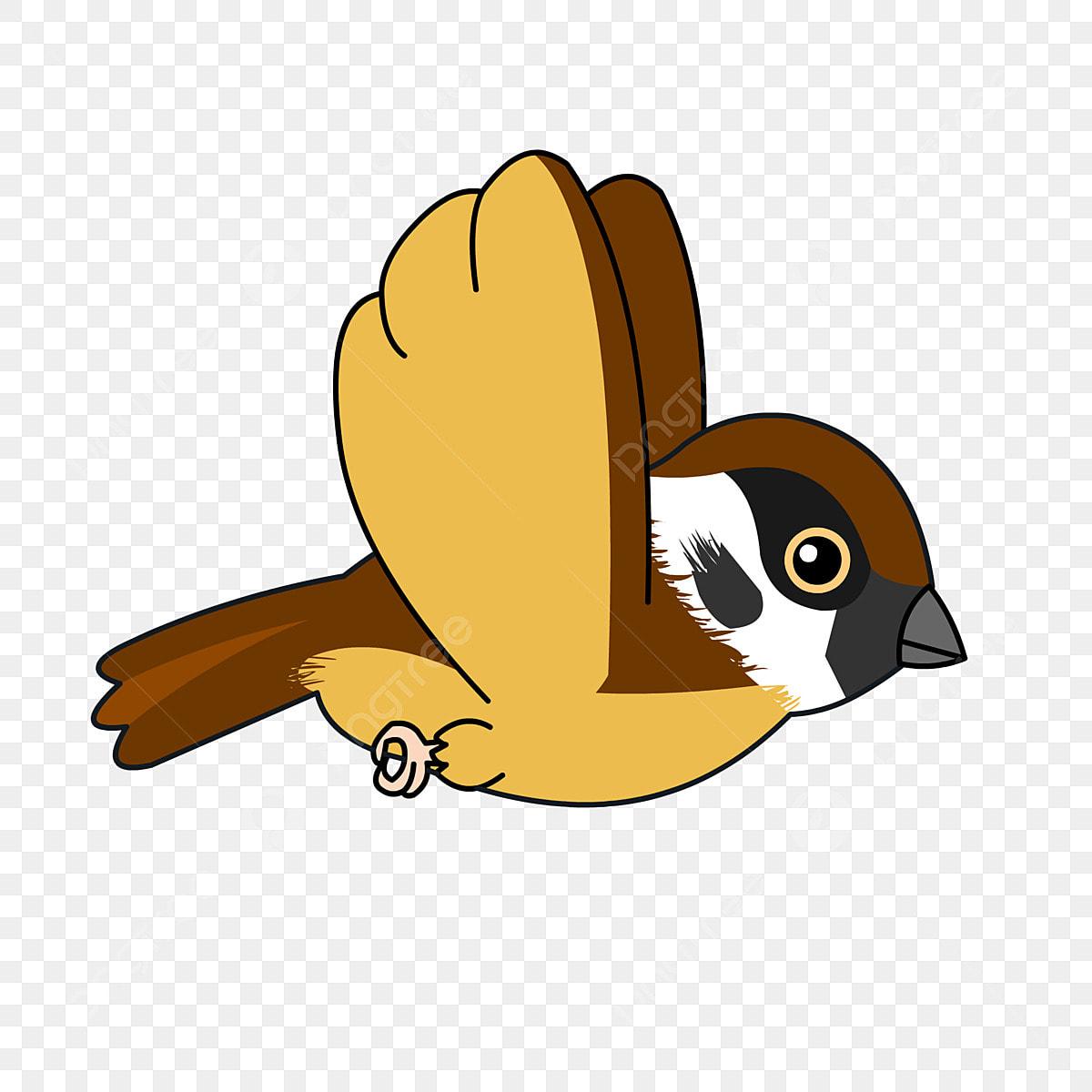 Petit Moineau Clipart Oiseau Des Oiseaux Sparrow Png Et Vecteur Pour Telechargement Gratuit