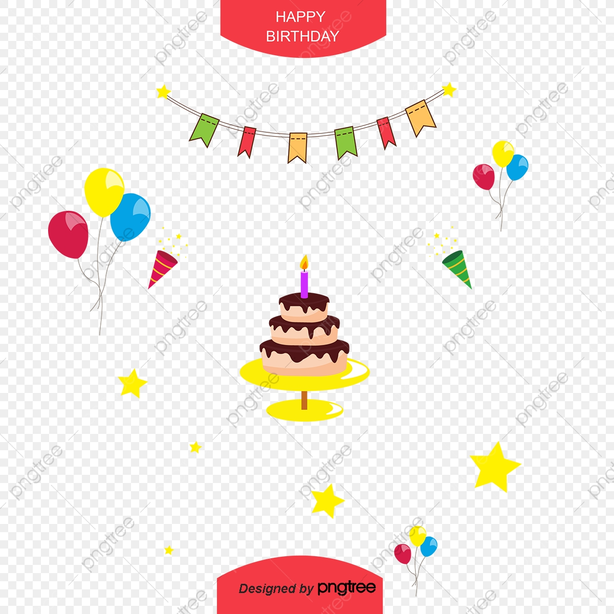 Birthday Clipart Download Free Transparent Png Format Clipart Images On Pngtree