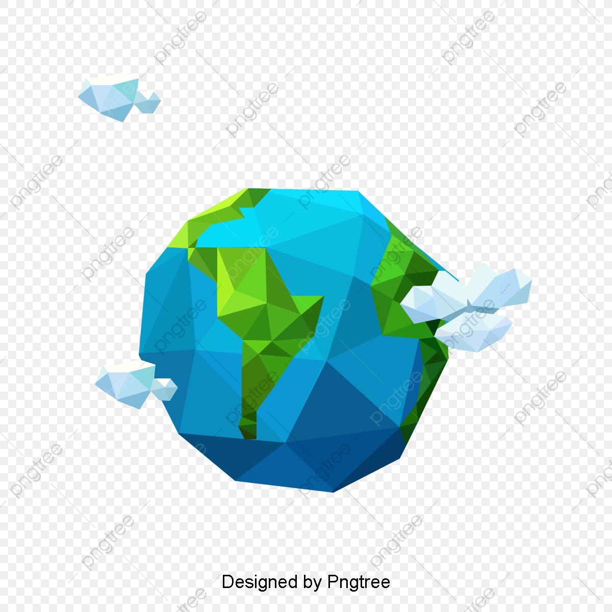 無料ダウンロードのための靑地球 地球 地球の写真 3 D地球png画像素材