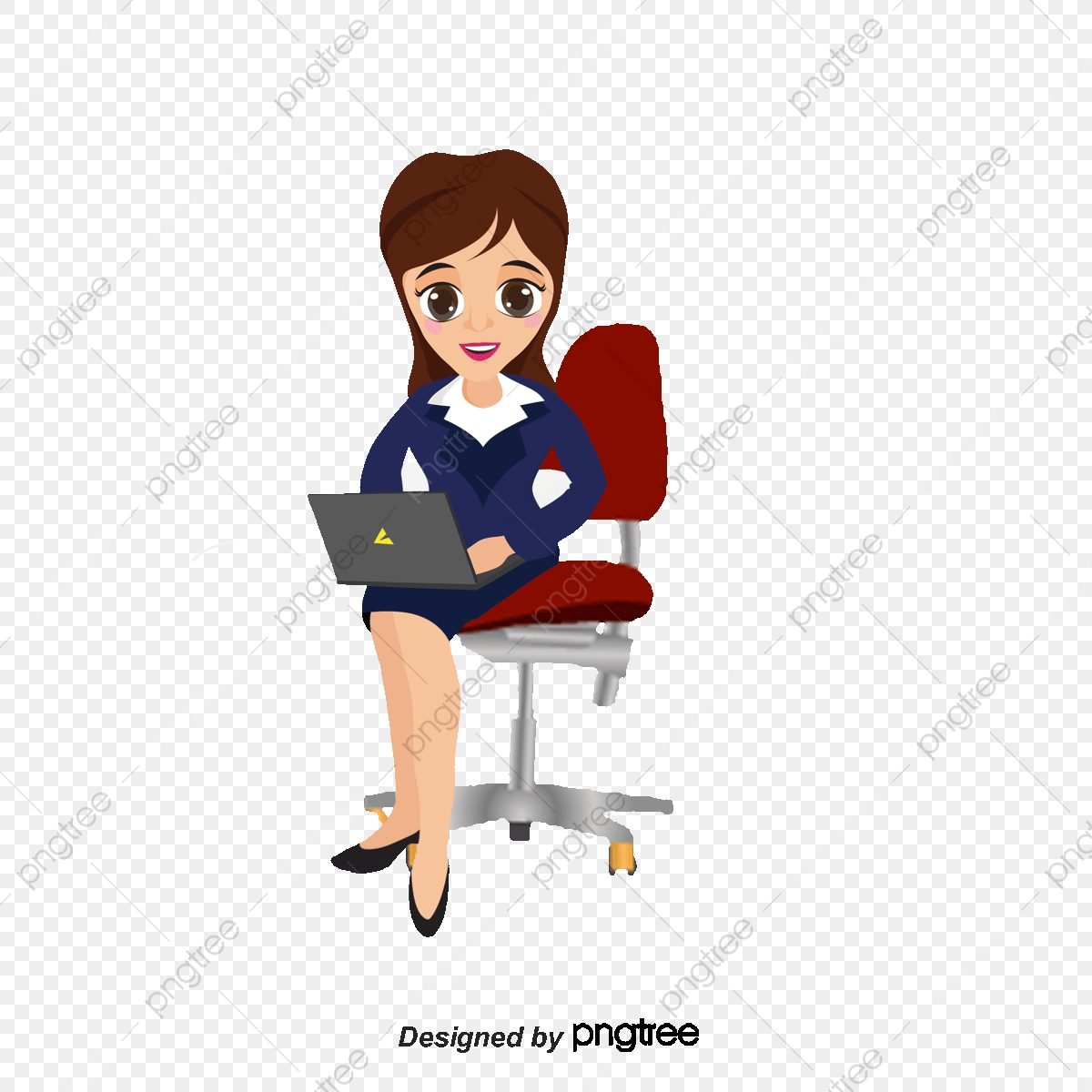 Business Career Woman Vector Material Business Female Workplace Png Transparent Clipart Image And Psd File For Free Download