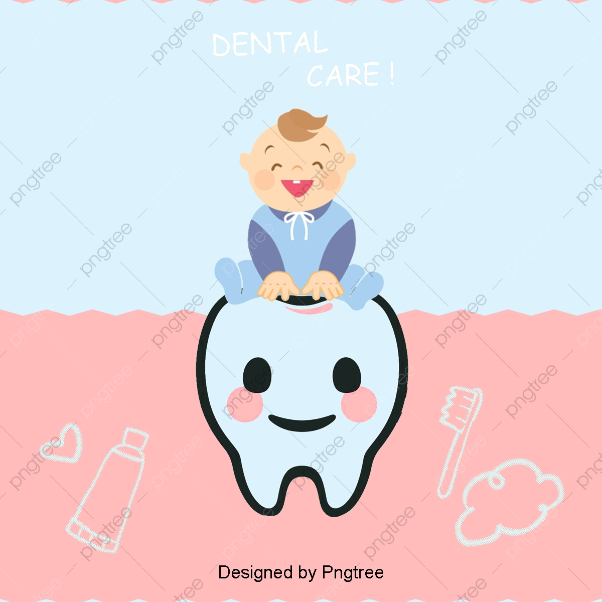 Cartoon Baby Teeth Cartoon Tooth Dentist Png Transparent Clipart Image And Psd File For Free Download