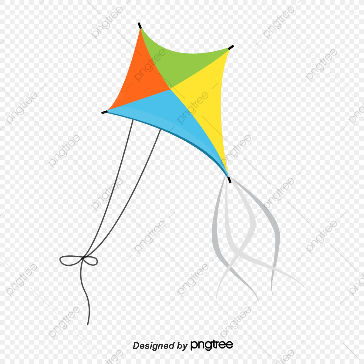 Cartoon Kite Cartoon Clipart Fly A Kite Color Kite Png