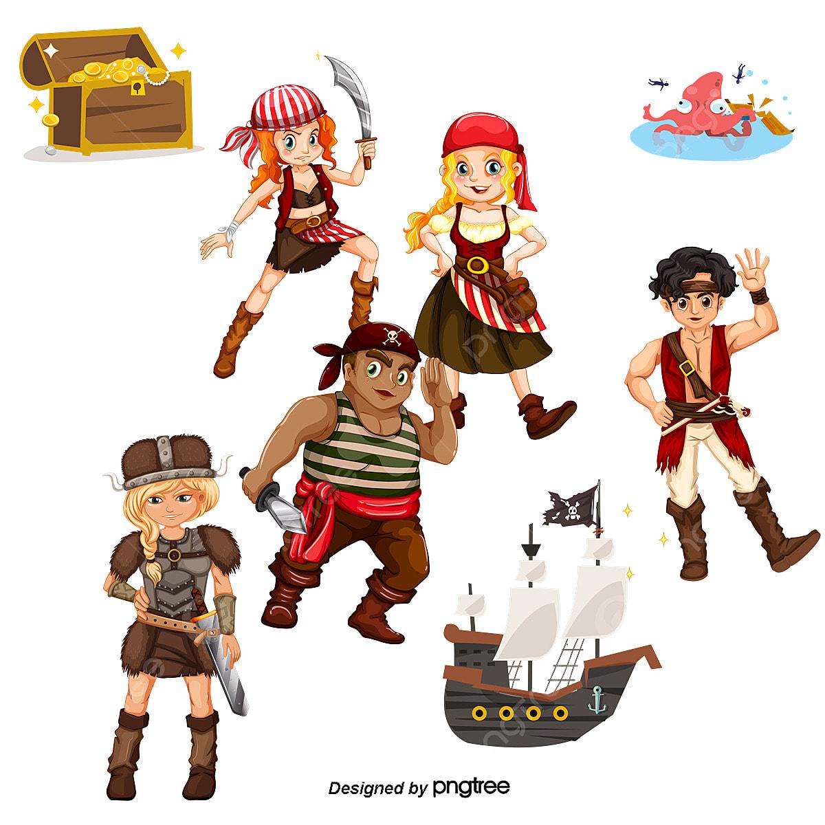 Pirata Dos Desenhos Animados Cartoon Os Piratas Fotos Png E