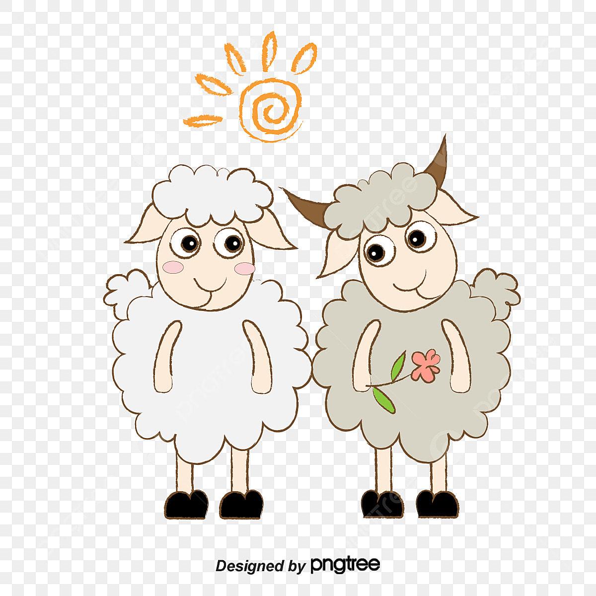 خروف الكرتون عيد الاضحى كرتون خروف صغير شمس Png والمتجهات للتحميل مجانا
