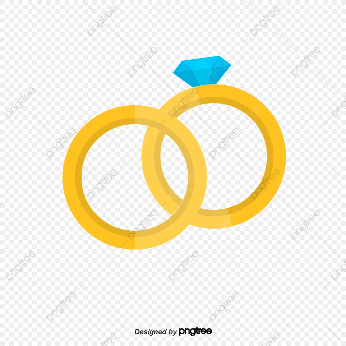 Cartoon Vector Material Diamond Wedding Ring Ring Vector Wedding Ring Png Transparent Clipart Image And Psd File For Free Download